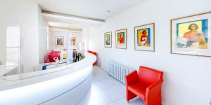 reception gynaecology-ultrasound-clinic harley street